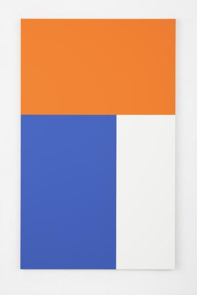Steven Aalders, Phi Painting (Blue, Orange)