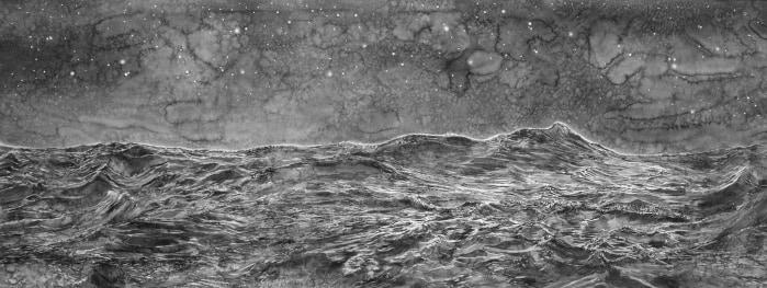 Hans Op de Beeck, On the Ocean (night)