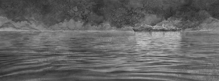 Hans Op de Beeck, Sea of Tranquillity (calm sea)