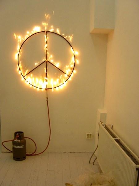 Marc Bijl, Burning Peace