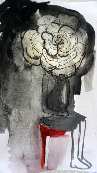 Gluklya, Her name was a white rose