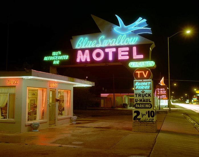 Steve Fitch, Blue Swallow Hotel