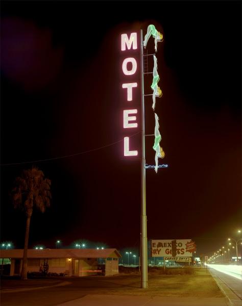 Steve Fitch, Starlite Motel, Highway 60, Mesa, Arizona