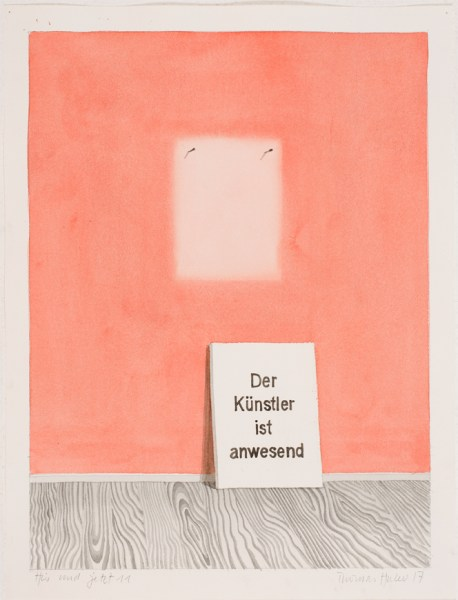 Thomas Huber, Here and now 11