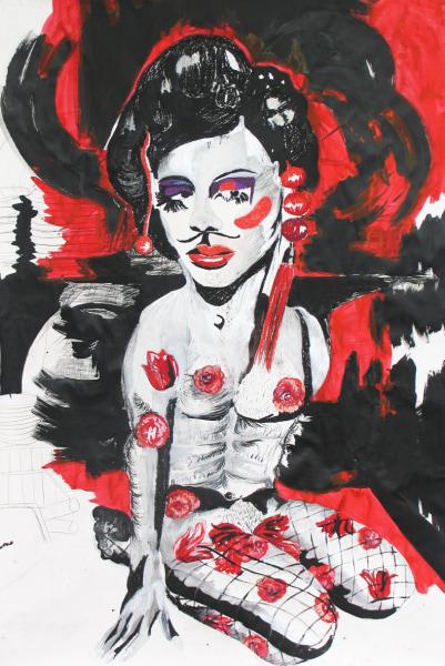 Charlotte Schleiffert, Geisha man/vrouw