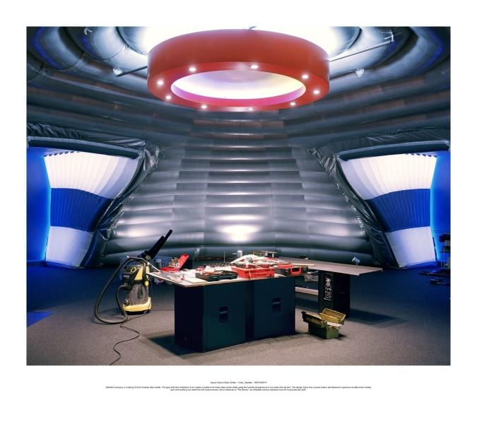 Philippe Braquenier, Palimpsest Space Station Data Center – Kista, Sweden – 05/11/02014