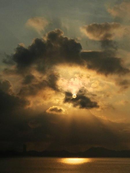 Michael Wolf, Cheung Chau Sunrises