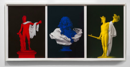 Andrew Lacon, Sculpted Image I,II,III