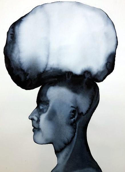 Petra Morenzi, Head with Pillow
