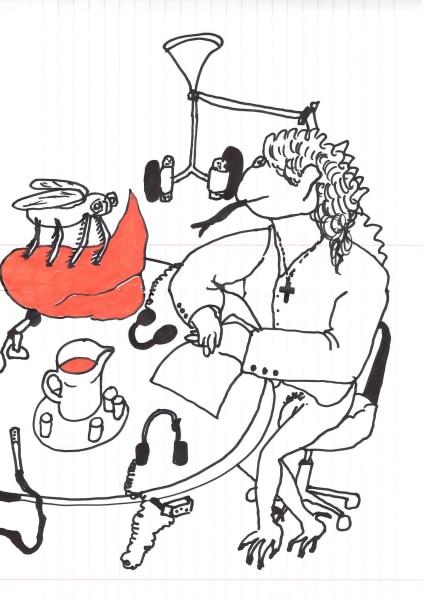 Dick Verdult, Dibujos Pasajeros (Radio Frogramma)