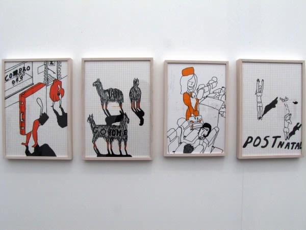Dick Verdult, Dibujos Pasajeros (Llama Yankee)
