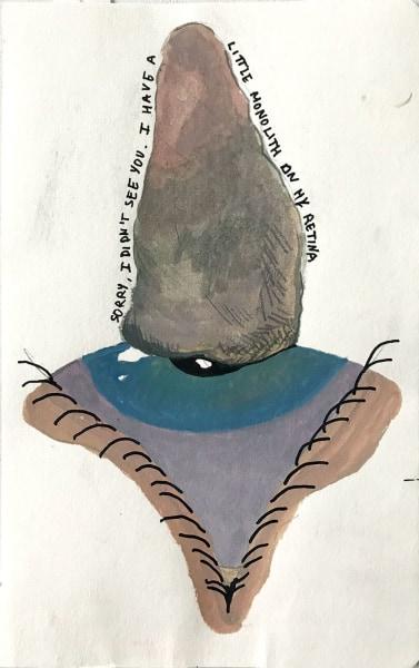 Salim Bayri, Monolith on my retina