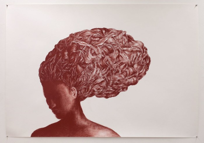 Petra Morenzi, Head with Curls
