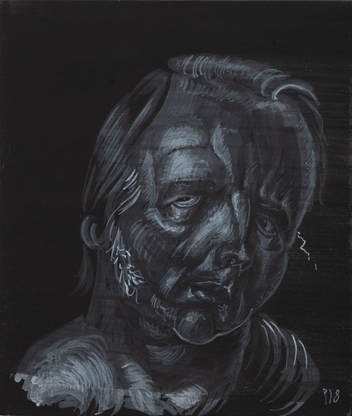 Self-portrait 2018 no.17