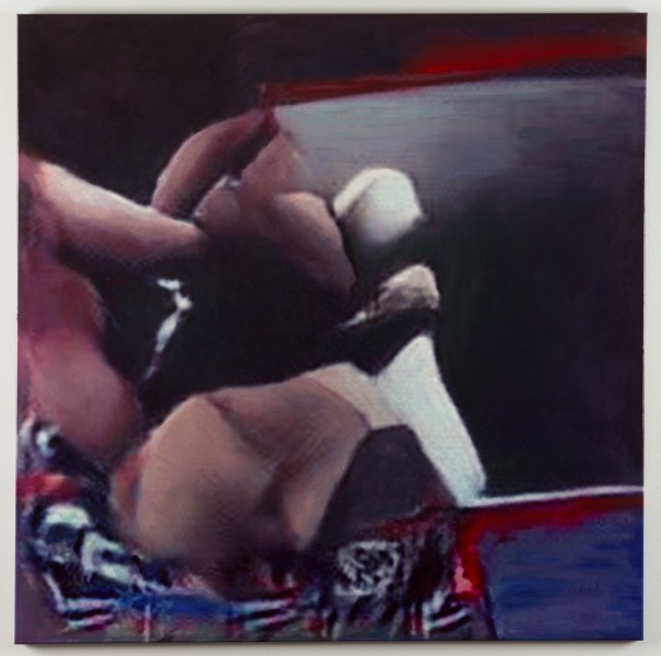 Constant Dullaart, Synthesized Image Net (Boxing Ring)