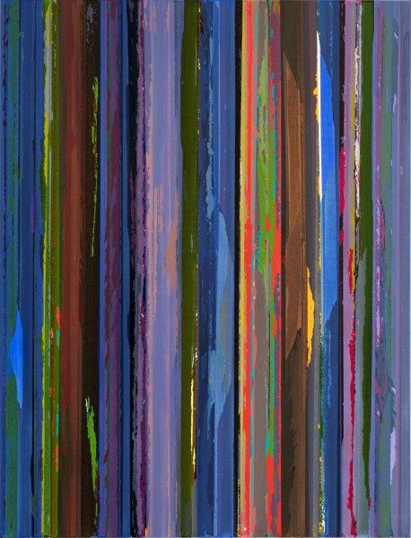 Ruri Matsumoto, Line Broken blue transparency