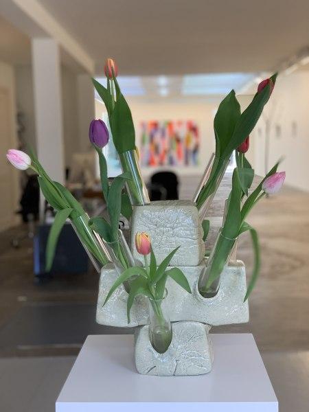Guido Geelen, tulpenvaas 3delig