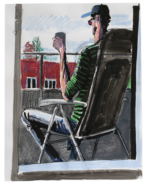 Hans Hoekstra, Tea On The Balcony