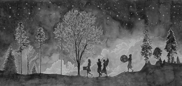 Hans Op de Beeck, The Night Walkers (4)