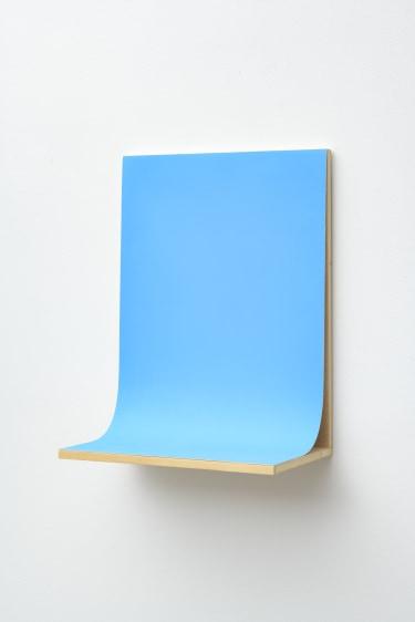Untitled (Blau Hell)