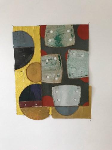 Schuurpapier collage