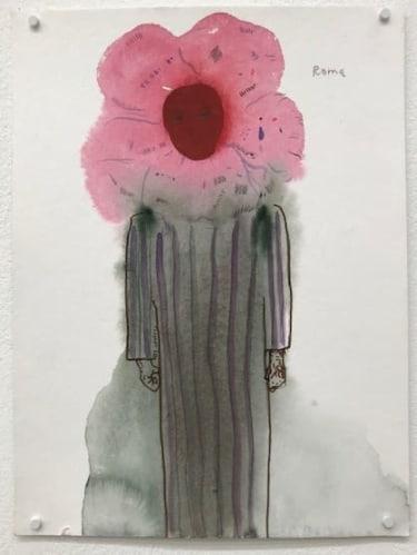 Pyjama flower head