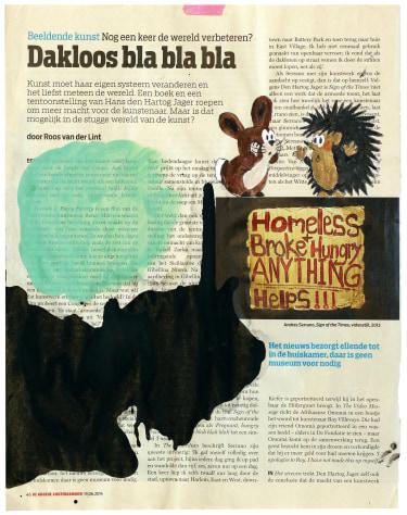 Untitled (Dakloos Bla Bla Bla, De Groene ...