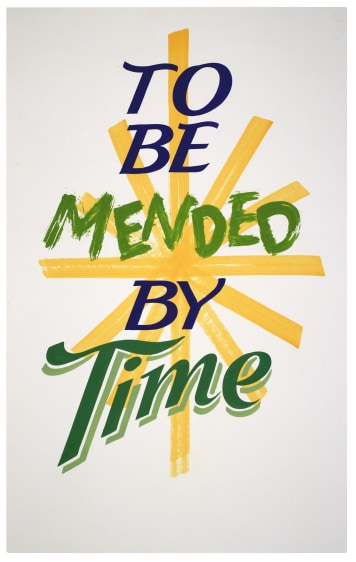 To Be Mended By Time
