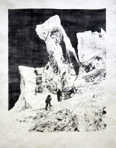 """Ice Tower of the Bosson glacier - from the series """"Monuments"""""""