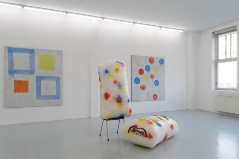 Exhibition overview at Ellen de Bruijne Projects