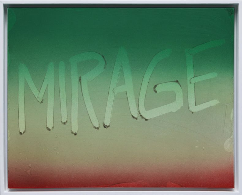 Mirage (Fingerdrawing - Dust series)