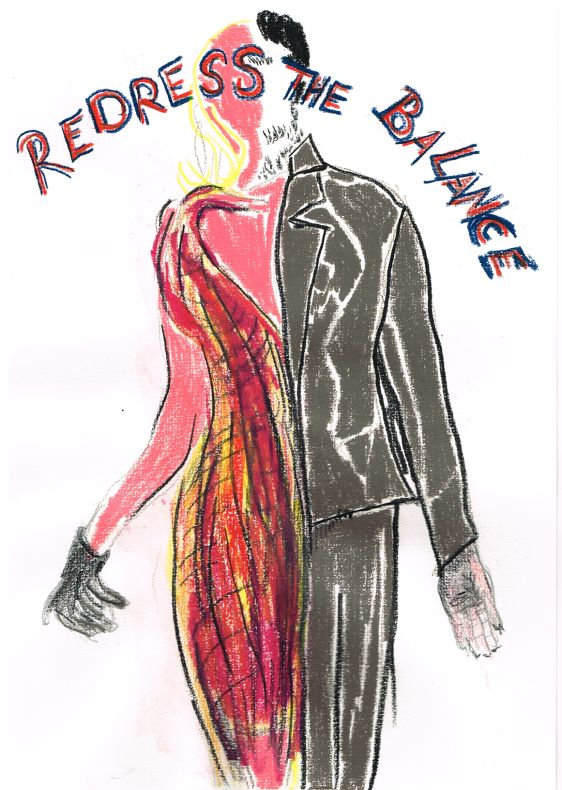 Redress The Balance   (in memory of Ulay)