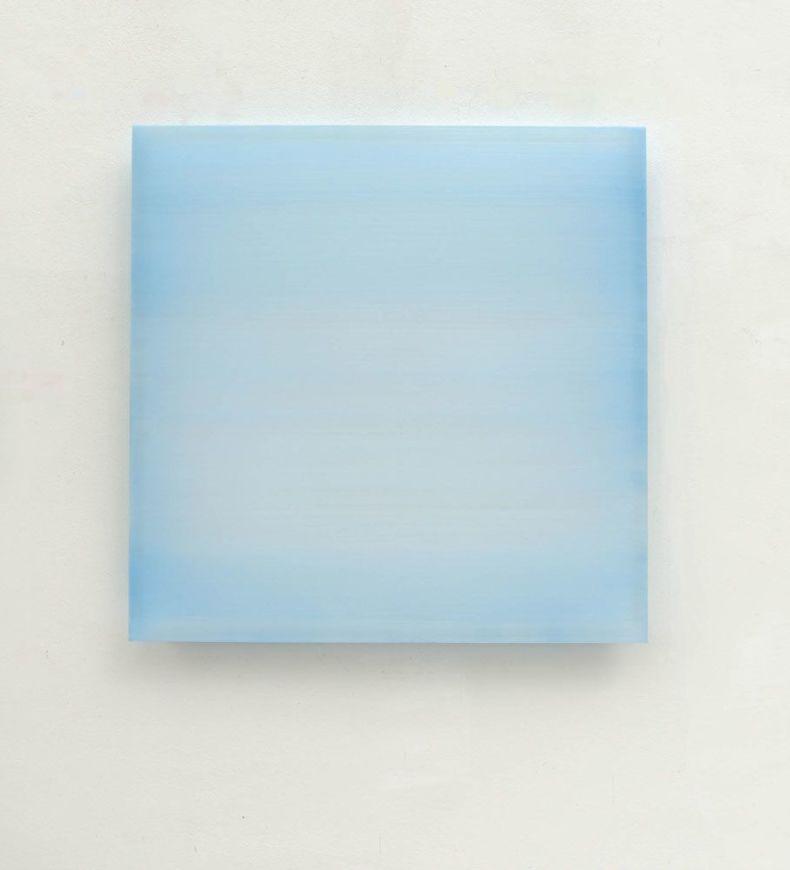 Zonder titel  (blauw)