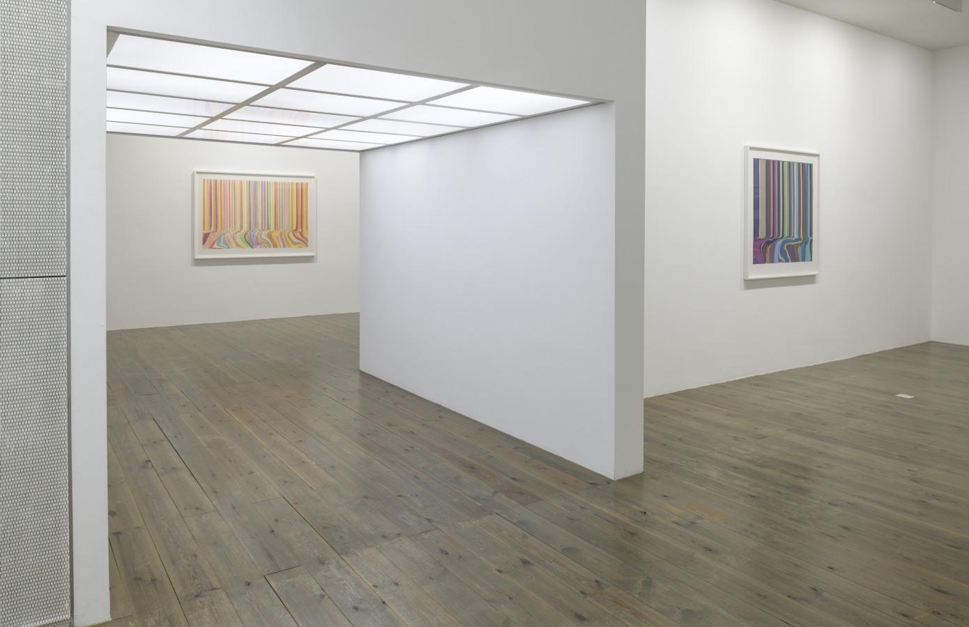 New Works on Paper, Ian Davenport, Paul Drissen,