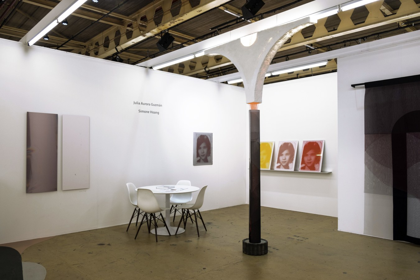 Art Rotterdam Van Nelle 2019, Julia Aurora Guzmán, Simone Hoang,