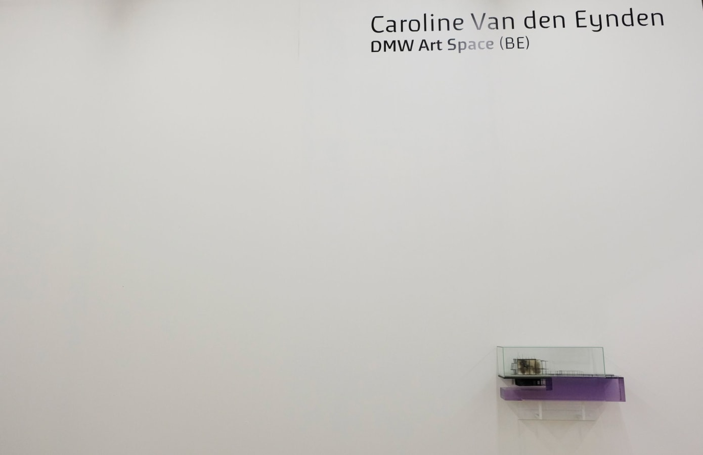 Art Rotterdam 2019, Caroline Van den Eynden,