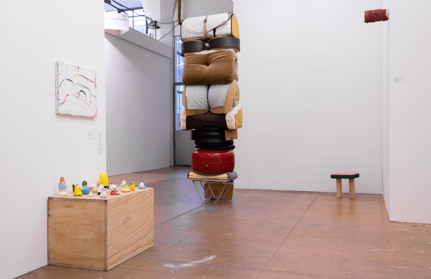 Art Rotterdam 2019, Gino Saccone, Juan Pablo Plazas, Kenichi Ogawa, Kurt Ryslavy, Suchan Kinoshita, Wobbe Micha, Yuki Okumura,