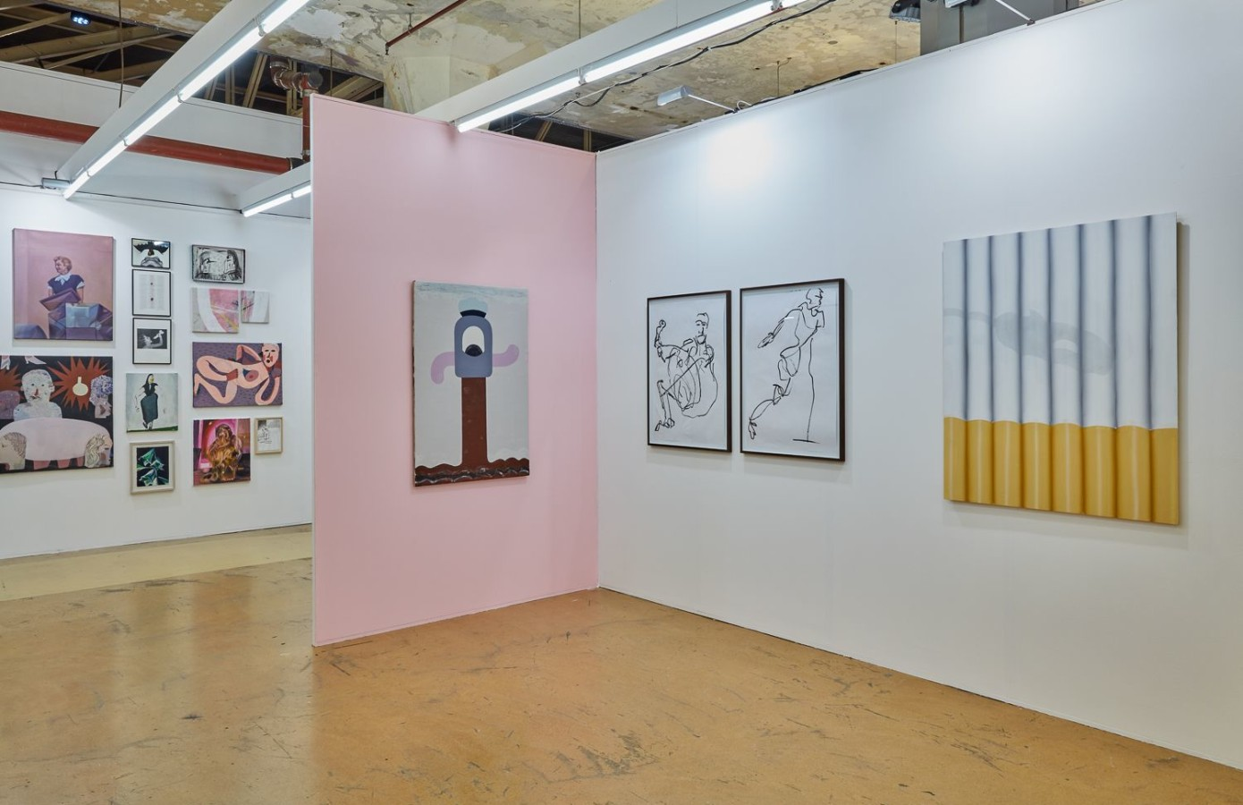 Art Rotterdam 2019, Nel Aerts, Beni Bischof, Jenny Brosinski, William Ludwig Lutgens,