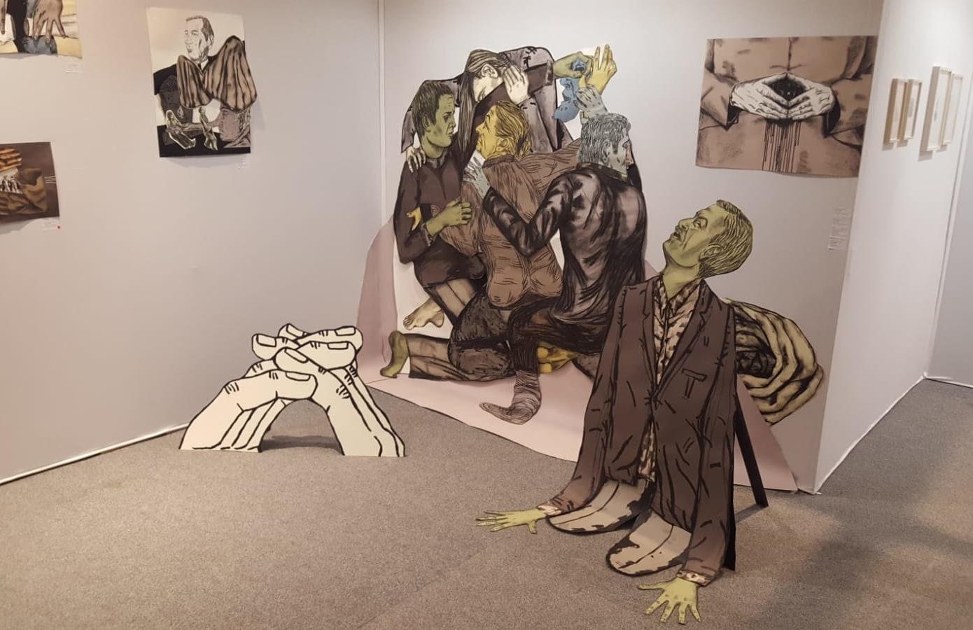Drawing Now Paris, Karin van Dam, Susanna Inglada,