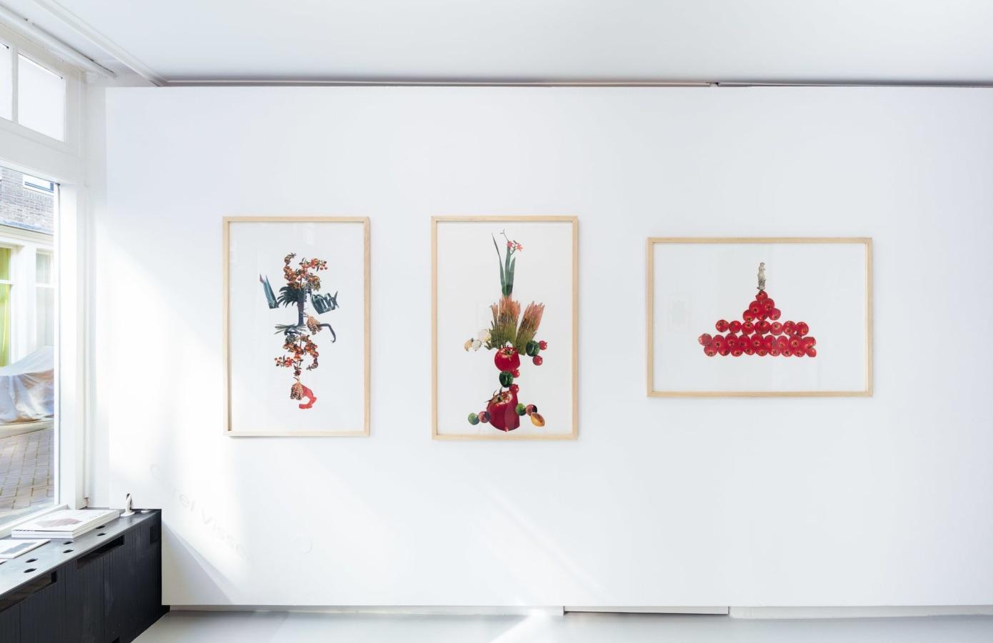 Carel Visser | tekeningen en collages, Carel Visser,