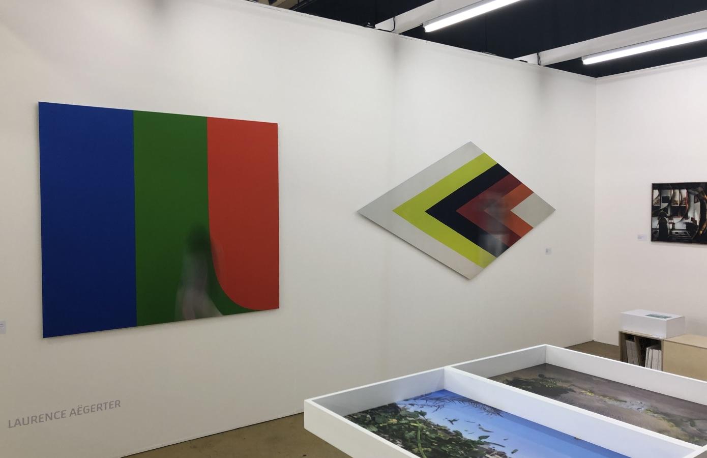 Art Rotterdam 2019, Laurence Aëgerter,