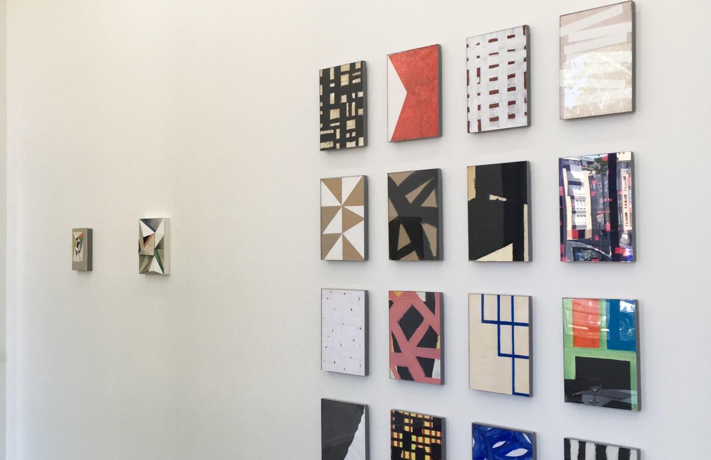 '4+4' Groepstentoonstelling, Cor van Dijk, Ingrid van der Hoeven, Jus Juchtmans, Dave Meijer, P.B. Van Rossem,