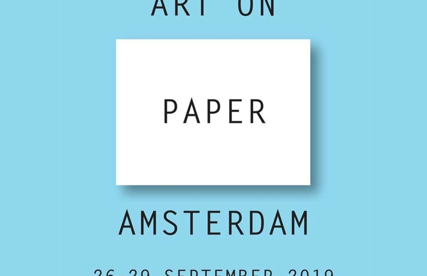 Art on Paper Amsterdam 2019, Marc Mulders,