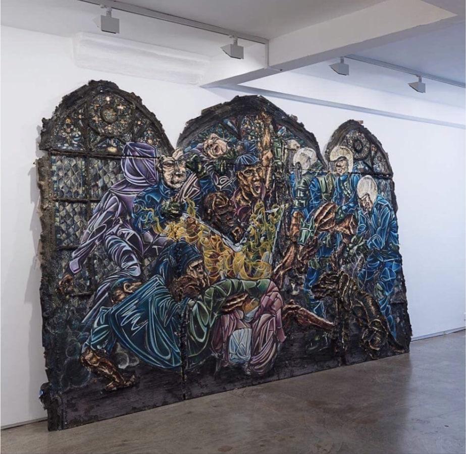 Art Rotterdam FOLLOW UP, Kim Dorland, Raquel van Haver, Marc Mulders, Karen Sargsyan,