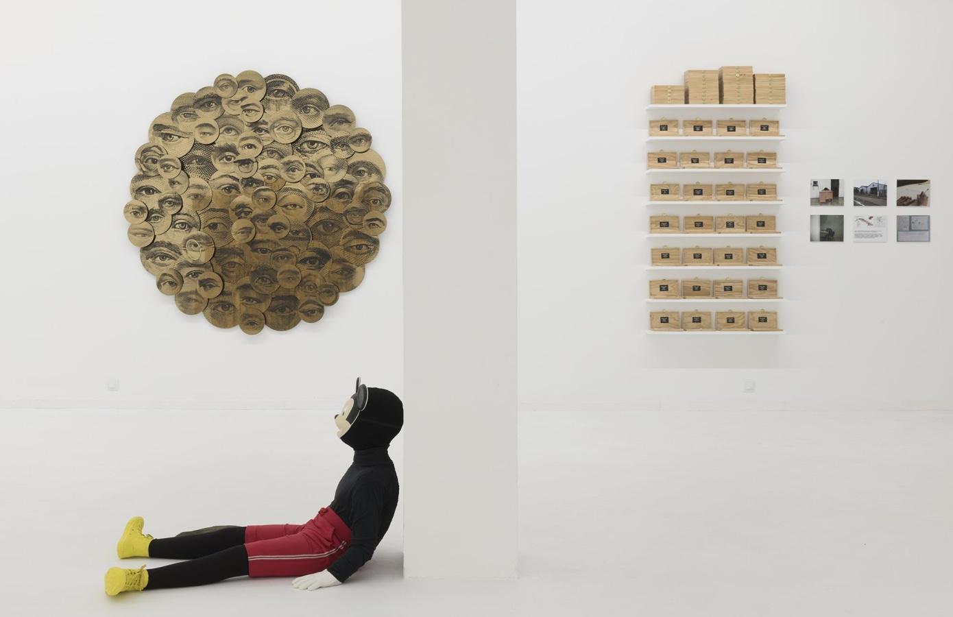 ADN Galeria, María María Acha-Kutscher, Carlos Aires, Jordi Colomer, Nuria Güell, Margaret Harrison, Eugenio Merino, Avelino Sala,