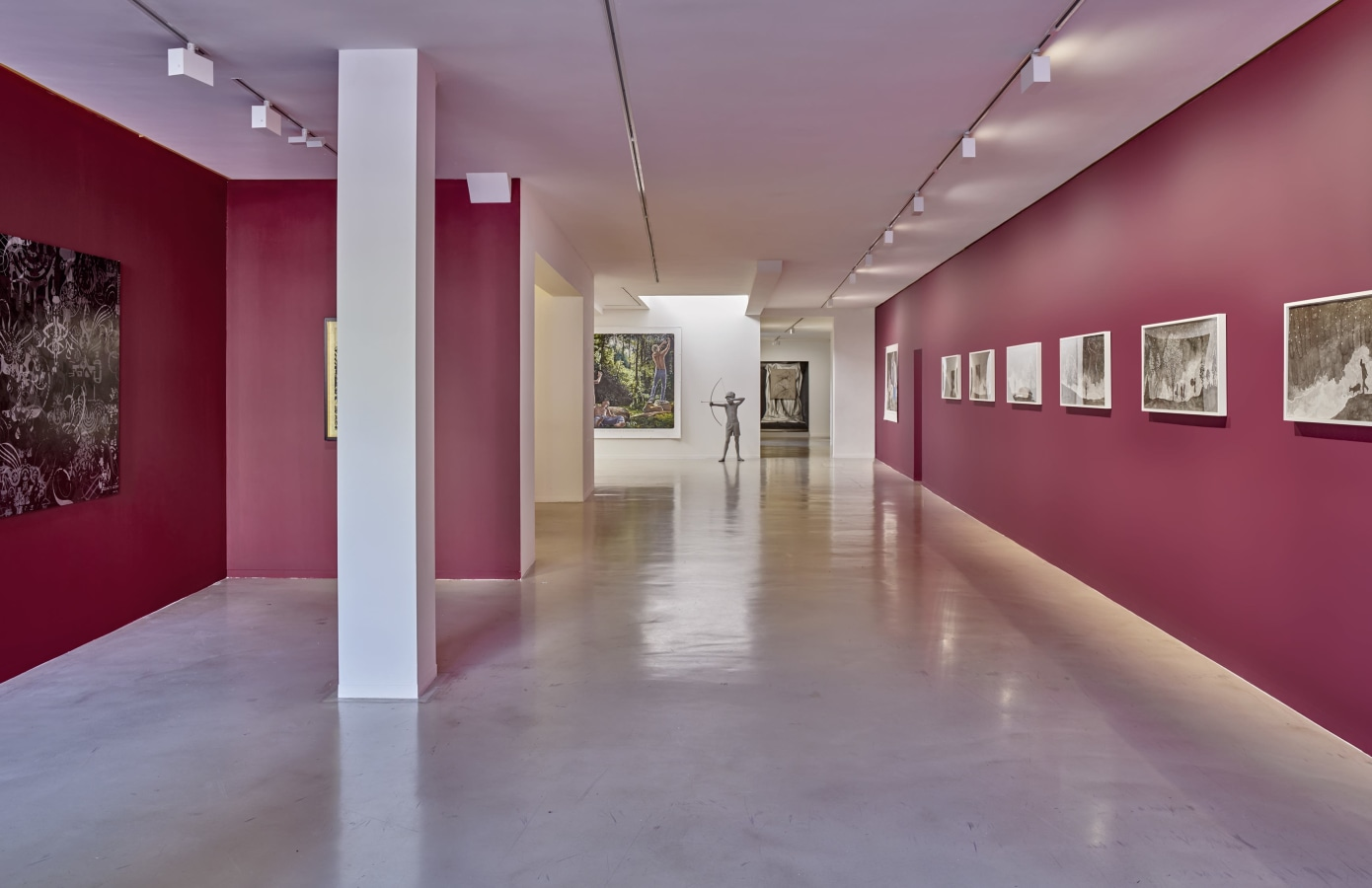 Changez! Art Brussels in Amsterdam, Hans Op de Beeck, Anthony Goicolea, Ryan McGinness, Muntean/Rosenblum, Renato Nicolodi, Jacco Olivier, Levi van Veluw,