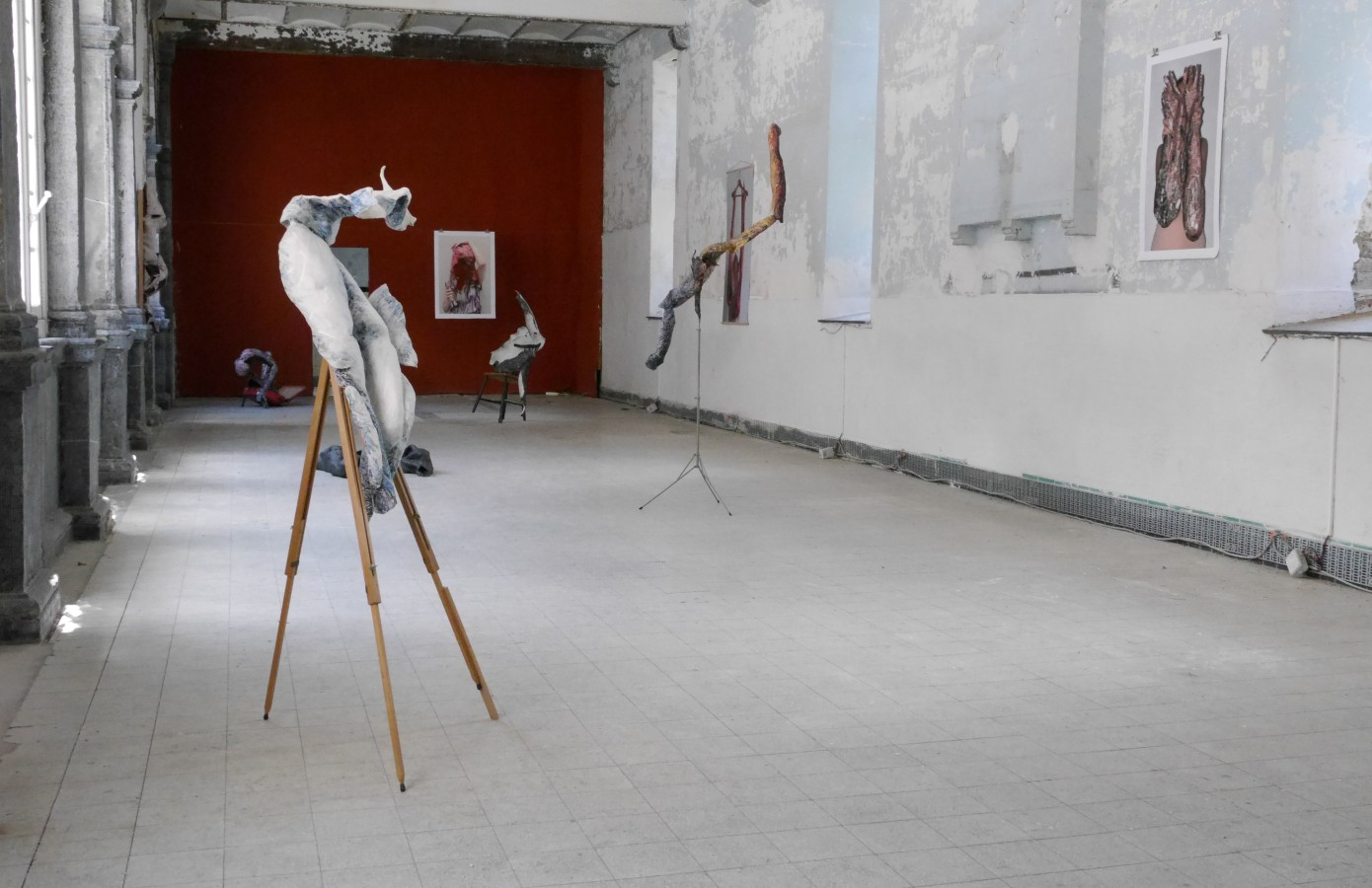 Mirrors of Time, installatie Kasteel Oud Rekem, BE, Karin Arink,