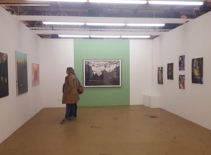 Art Rotterdam 2018, Marcel van Eeden,
