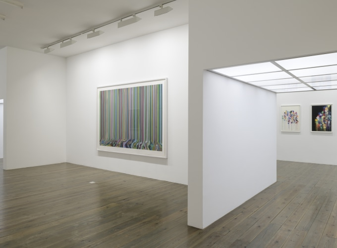 New Works on Paper, Paul Drissen, Ian Davenport,