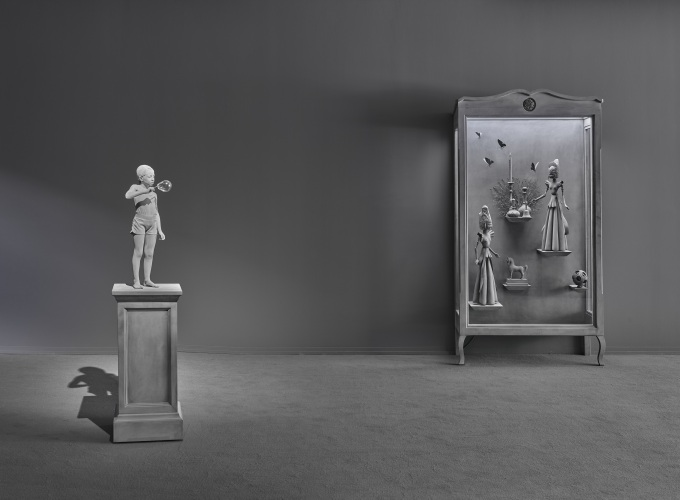 Cabinet of Curiosities, Hans Op de Beeck,